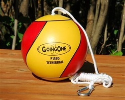 Ball, rope and snap hook package for tetherball - S-132