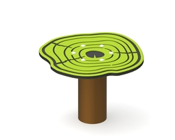 Stump oscillating podium (G-14005)