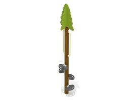10' Black spruce tree (G-11032)