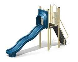 5' Free-Standing Slide with Waves (L-15024-B)