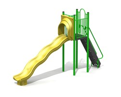 6' Free-Standing Slide with Waves (L-15025-B)