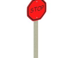 'Stop'' Sign (L-0412)