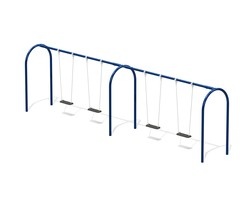 6' Arch. swing fr., 4 seats not inc. - L-0107