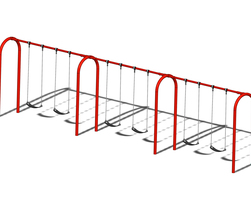 8' Arch. swing fr., 6 pl.(Anti-wrap) (L-06012)