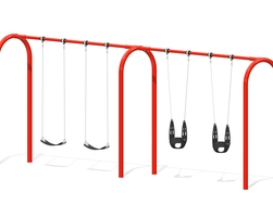 8' Arch. swing, 4 pl.(Anti-wrap) (L-06014)