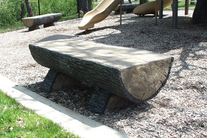 N 10010 np ccb183 half log bench