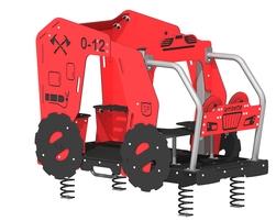 Le camion de pompier (LA-13004-D)