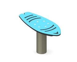 Planche de surf oscillante (G-14012)