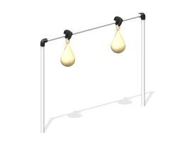 4' Punching Balls (2 balls) (L-9813-B2)