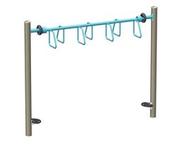 Oscillating overhead ladder (J2-16050-5B)