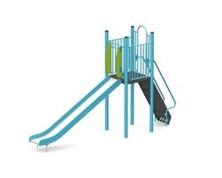 5' Free standing slide (Stainless steel) (15029-B)