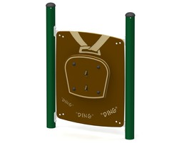 Freestanding cow bell panel (L-15002-A)