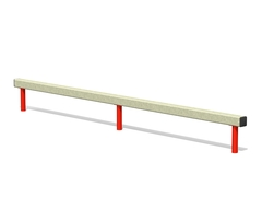Balance beam - single (Z-17007)