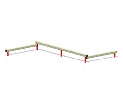 Balance beam - triple (Z-17008)