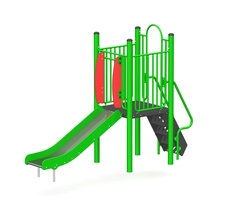 3' Free standing slide (Stainless steel) (L-15027-B)