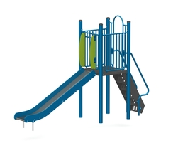 4' Free standing slide (Stainless steel) (L-15028-B)