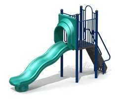 4' Free-Standing Slide with Waves (L-16065)