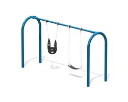 6' Arch. swing, 2 pl.(Anti-wrap) (L-06015)