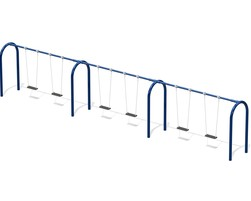 6' Arch. swing, 6 pl.(Anti-wrap) (L-06010)