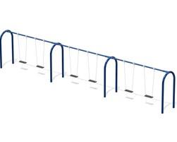 6' Arch. swing fr., 4 pl. (L-6010)
