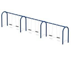 6' Arch. swing, 6 pl. (L-07002)