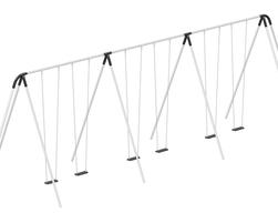 Swing 6pl 12' (L-8920-CO6B)