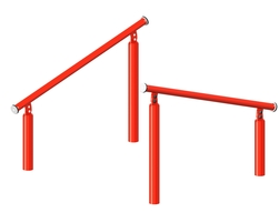 Inclined jumping bars (2) (Z-17017)
