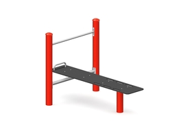 The ab bench with pull-up bar (Z-17019 )