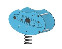 Solar system spring rider (LA-14003-D)