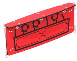 Comptoir de jeu boîte à fleurs (44) (SC-COM3-000-N-44)