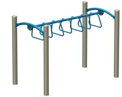L'Échelle Horizontale à Boucles Accessible ( J2-17104-5HB)