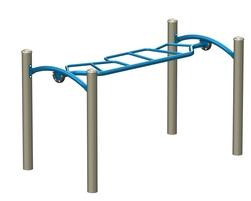 L'échelle horizontale asymétrique accessible (J2-17105-5HB)