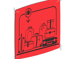 Luggage panel (44) (SC-BAG1-000-U-44)