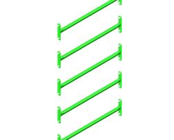 Échelle 5 barreaux (30) (GV-ECH5-000-U-30)