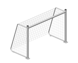 8' x 5' Junior soccer goal (Without net) (J-18003)