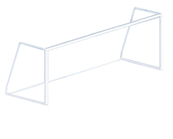 24' x 8' Senior soccer goal post (Without net) (J-11000)