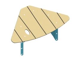 Refuge roof (30) (SC-TOI10-000-N-30)