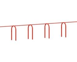 8' Arch. swing, 10 pl.(Anti-wrap) (L-18064)
