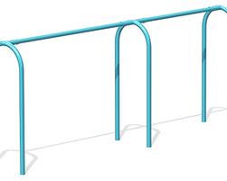 8' Arch. swing, 3 pl.(Anti-wrap) (L-18017)