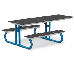 Accessible table with standard panels (H-16002)