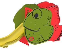 Fish slide (L-19084)