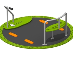 Inclusive scooter roundabout (SIR000)