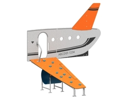 "3' Plane access climber (48)(Ø3.5"" post)(Tunnel) (GA-AVI2-030-U-48)"