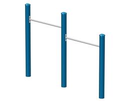 La barre fixe double (60-51) (J2-16008-5B)