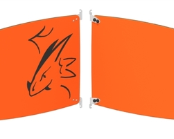 Panneau tête de dragon (Gauche) (SC-DRA2-000-U-44)