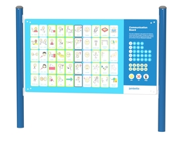 Non-verbal communication board (English/double-sided) (L-20021)