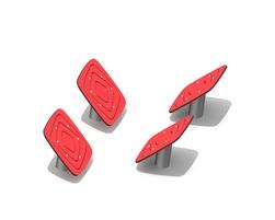 Angled ninja podiums (Z-18001)