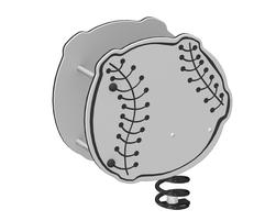 Baseball spring rider (LA-19000)